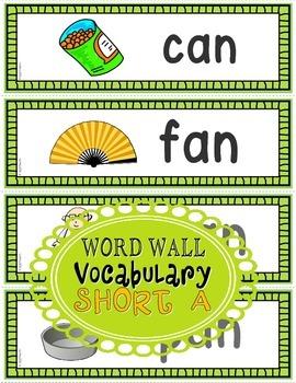 Word Families: CVC Phonics Sentence Strips Set 1 (Short A)