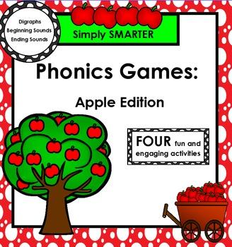 SMARTBOARD PHONICS GAMES:  Apple Edition