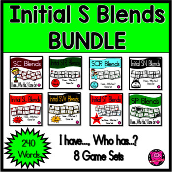 BLENDS GAMES that begin with INITIAL S