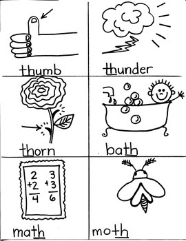 PHONICS TARGETS  /TH/  for FIRST GRADE ARTISTS