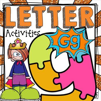 PHONICS: THE ALPHABET {LETTER G}
