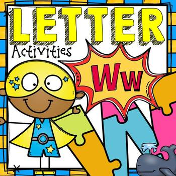 PHONICS: THE ALPHABET: LETTER W