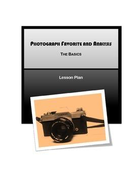 Photograph Favorite and Analysis: The Basics