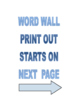 PHYSICS WORD WALL -  HIGH QUALITY  50+ WORDS JUST CUT AND