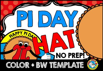 PI DAY ACTIVITIES: PI DAY CRAFTS: HAT TEMPLATE: HOLIDAY CRAFTS