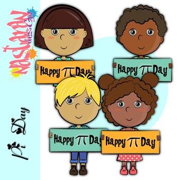 PI Day Kids Clipart