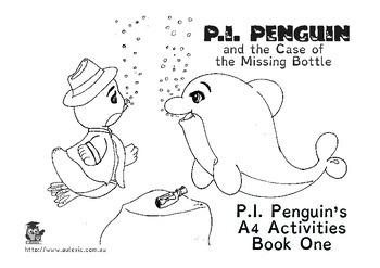 P.I. Penguin's A4 Activities [bk1]