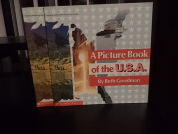 PICTURE BOOK OF THE U.S.A.  ISBN 0-590-43909-X  (set of 2)