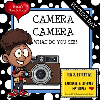 PICTURE DAY EMOTIONS SPEECH THERAPY AAC