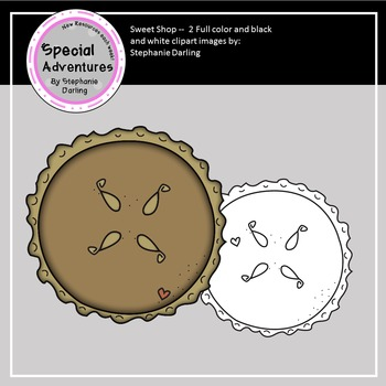 FREE PIE CLIP ART GRAPHIC FROM THE SWEET SHOP