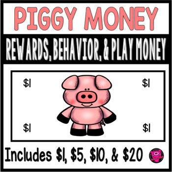 PIG THEME REWARDS and CLASSROOM MANAGEMENT for CHARACTER E