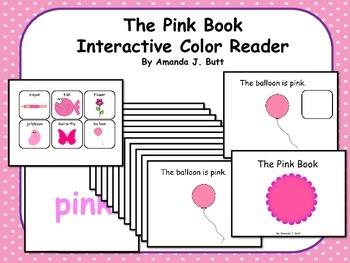 PINK Interactive Sight Word Reader; Kindergarten; Special