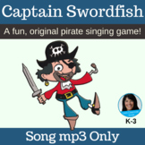 "PIRATE Song | ""Captain Swordfish"" Action Song 