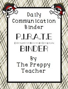 PIRATE Binder Daily Communication Set
