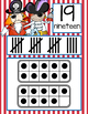 PIRATES - Number Line Banner, 0 to 20, Illustrated