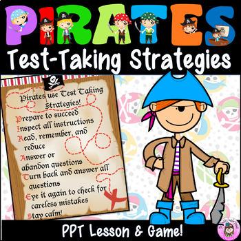 PIRATES Standardized Test Taking Strategies Lesson & Game