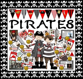 PIRATES TEACHING RESOURCES ROLE PLAY DISPLAY KEY STAGE 1 -
