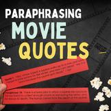 Anti - Plagiarism Animation Paraphrasing