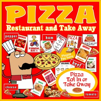 PIZZA DELIVERY SHOP ROLE PLAY FOOD HEALTHY EATING EARLY YE