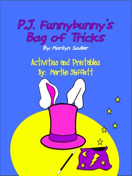 P.J. Funnbunny's Bag of Tricks Activities and Printables