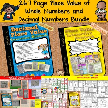 PLACE VALUE: MULTI-DIGIT WHOLE NUMBERS AND DECIMAL NUMBERS