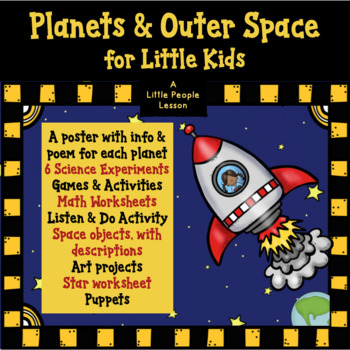 PLANETS & OUTER SPACE FOR LITTLE KIDS, Science Experiments