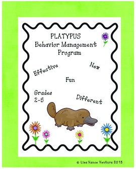 PLATYPUS Behavior Management Program and Tools