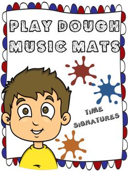 PLAY DOUGH MUSIC MATS- TIME SIGNATURES