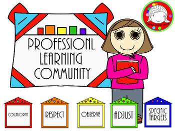 PLC (Professional Development) Clipart (Personal & Commerc