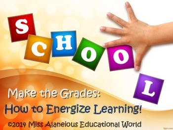 PLC Training ~ Making the Grade: How to Energize Learning