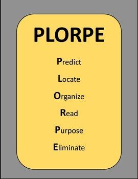 PLORPE Reading & Testing Strategy