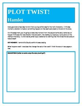 PLOT TWIST!  Hamlet