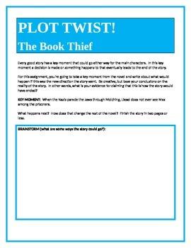 PLOT TWIST!  The Book Thief
