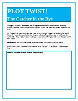 PLOT TWIST!  The Catcher in the Rye