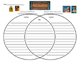 POCAHONTAS BIOGRAPHY VS DISNEY MOVIE VENN DIAGRAM
