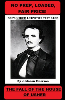 POE'S USHER ACTIVITIES TEST PACK with activities, test wit