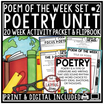 Poem of the Week & Poetry Reading Comprehension Passages 4