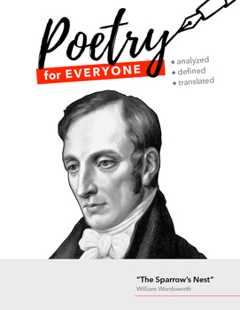 """POETRY FOR EVERYONE Study Guide- William Wordsworth- """"The"""