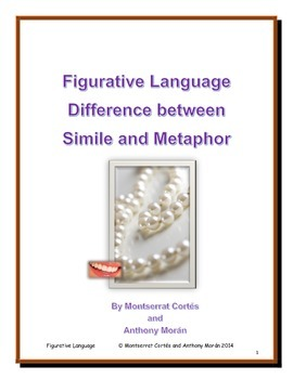 POETRY STATION: Figurative Language - Difference between S