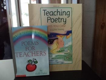 POETRY TEACHING,  POEMS FOR TEACHERS      (set of 2)