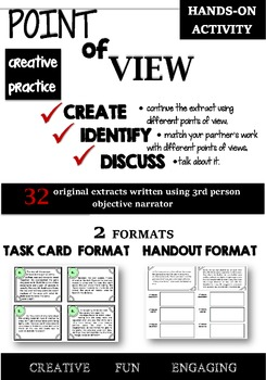 Point of view - creative hands-on activity