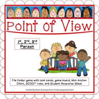POINT of VIEW:  1st, 2nd, or 3rd Person?
