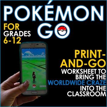 POKEMON GO - Bring the Craze Into the Classroom! Research