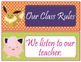 POKEMON GO Theme Class Rules - EDITABLE