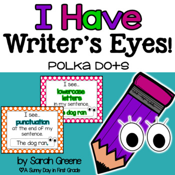 {POLKA DOT} Writer's Eyes {posters & bookmarks}