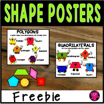 POLYGONS and QUADRILATERALS BULLETIN BOARD SET