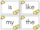 POP Sight Word Game