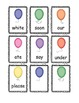 POP Sight Word Game (Primer / Kinder)