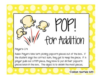 POP for Addition