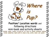POSITION  words & following directions * mini-book * print